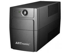 1000VA Line Interaktif 1 Adet 12V 9AH Akü 1 PC 25 Dk UPS Artronic