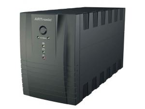 1200VA Line Interaktif 2 Adet 12 V 7AH Akü 3 PC 7 Dk UPS Artronic