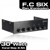 Akasa AK-FC-08BK FC SIX