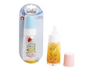 Silikon Kiraz Uçlu Kulplu Cam Biberon 125 ml (BPA%0) Bambino