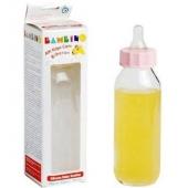 Bambino Silikon Kiraz Uçlu Kulplu Cam Biberon 250ml (BPA%0)