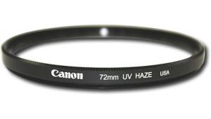 72mm UV Canon