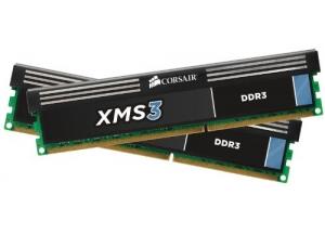 8GB 1600MHz 2x4GB DDR3 Dual Kit XMS3 Corsair
