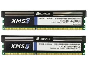 Xms3 Ddr3 1600mhz 8gb 2x4gb Corsair