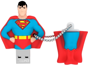 SH100 Super Heroes Superman 8GB Emtec
