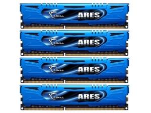 16GB 4x4GB DDR3-1600Mhz F3-1600C9Q-16G GSKILL