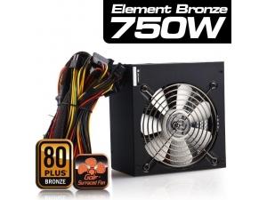 750w High Power 12cm Fan Aktif Pfc 80+ Bronze Psu Highpower