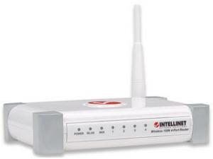 Kablosuz 300N 4 Portlu Router 524490 302867 Intellinet