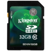 Kingston SDHC 32GB Class 10 SD10V/32GB