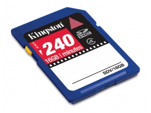 SecureDigital Video 16GB (SDHC) Kingston