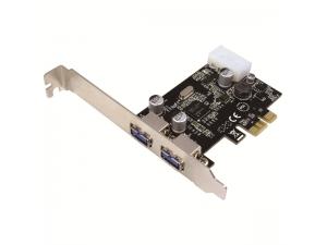 2 Port USB3.0 PCI-Express Kart PC0054A LogiLink