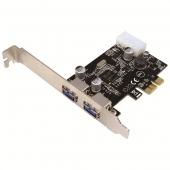 LogiLink 2 Port USB3.0 PCI-Express Kart PC0054A