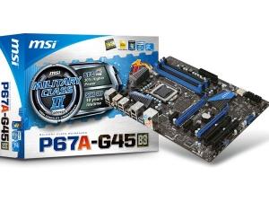 P67A-G45 MSI
