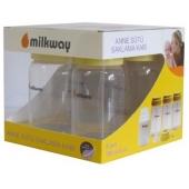 Milkway Anne Sütü Saklama Kabı 4 adet
