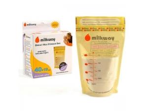 Süt Saklama Poşeti 100 Adet 50x2 Milkway