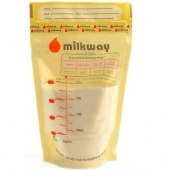 Milkway Süt Saklama Poşeti 100 Adet 50x2