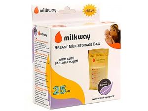 Süt Saklama Poşeti 25`li MLK-3 Milkway