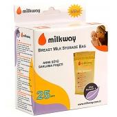 Milkway Süt Saklama Poşeti 25`li MLK-3