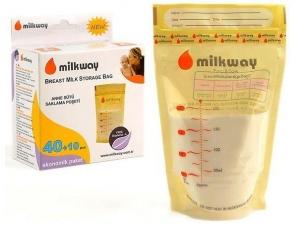 Süt Saklama Poşeti 50 Adet Milkway