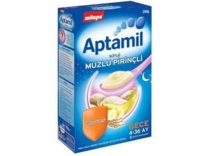 Aptamil Sütlü Muzlu Pirinçli 250 gr Milupa