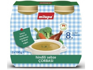 Hindili Sebze Çorbası Multipack 2X190Gr Milupa