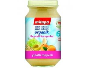 Organik Yulaflı Üzüm Kayısı Muz 200 gr Milupa