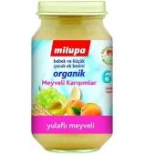 Milupa Organik Yulaflı Üzüm Kayısı Muz 200 gr