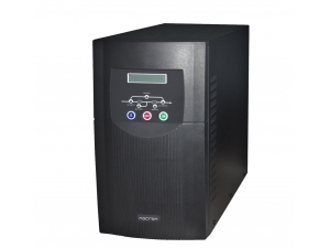 1000VA, Online, 3 Adet 12V 7AH Akü, 7-20 Dk , UPS, Siyah Necron