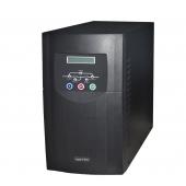 Necron 3000VA, Online, 8 Adet 12V 7AH Akü, 5-15 Dk , UPS, Siyah