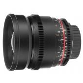 Samyang 16mm V-DSLR T2.2 ED AS UMC CS