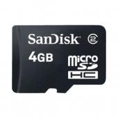 Sandisk 4GB Micro SD Class 2 SDSDQM-004G-B35