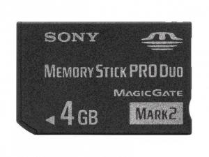 4GB PRO DUO MSM-T4GT Sony