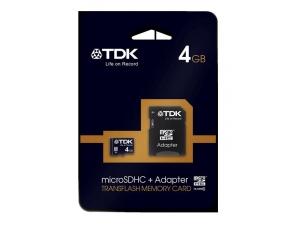 SDHC Travelcard 4GB Class 4 TDK