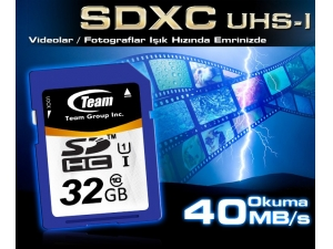 32GB Class 10 TMSDXC32GC10 Team