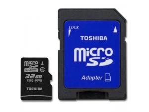 32 GB Micro SDHC Kart Class 4 RAMSEC032GtTOS100 Toshiba