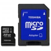 Toshiba 32 GB Micro SDHC Kart Class 4 RAMSEC032GtTOS100