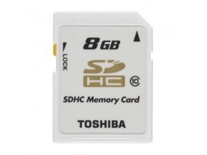 8GB SDHC Kart Class 10 RAMSEC8192TOS110 Toshiba