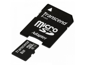 TS8GUSDU1 Premium 8GB microSDHC Class10 Transcend