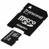 Transcend TS8GUSDU1 Premium 8GB microSDHC Class10