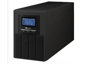 1KVA, Online, 2 Adet 12V 9AH Akü, 4-10 Dk , LCD UPS, Siyah (NEWTECH-ECO-1KVA) Tuncmatik
