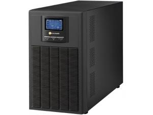 3KVA, Online, 6 Adet 12V 9AH Akü, 5-12 Dk , LCD UPS, Siyah (NEWTECH-ECO-3KVA) Tuncmatik