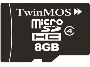 MicroSDHC 8GB Class 4 Twinmos