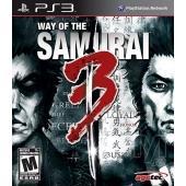 Agetec Way of the Samurai 3. (PS3)