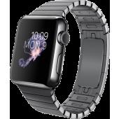 Apple Watch (38 mm) Uzay Siyahı Paslanmaz Çelik Kasa ve Baklalı Model Uzay Siyahı Paslanmaz Çelik Bilezik