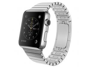 Watch (42 mm) Paslanmaz Çelik Kasa ve Baklalı Model Paslanmaz Çelik Bilezik Apple