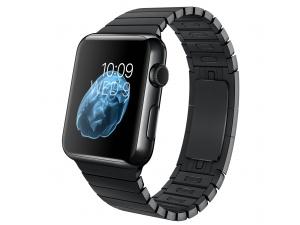 Watch (42 mm) Uzay Siyahı Paslanmaz Çelik Kasa ve Baklalı Model Uzay Siyahı Paslanmaz Çelik Bilezik Apple
