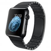 Apple Watch (42 mm) Uzay Siyahı Paslanmaz Çelik Kasa ve Baklalı Model Uzay Siyahı Paslanmaz Çelik Bilezik