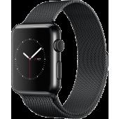 Apple Watch (42 mm) Uzay Siyahı Paslanmaz Çelik Kasa ve Uzay Siyahı Milano Loop