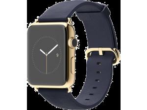 Watch Edition (42 mm) 18 Ayar Sarı Altın Kasa ve Klasik Tokalı Gece Mavisi Kayış Apple