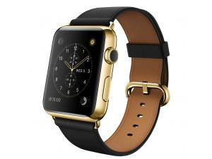 Watch Edition (42 mm) 18 Ayar Sarı Altın Kasa ve Klasik Tokalı Siyah Kayış Apple